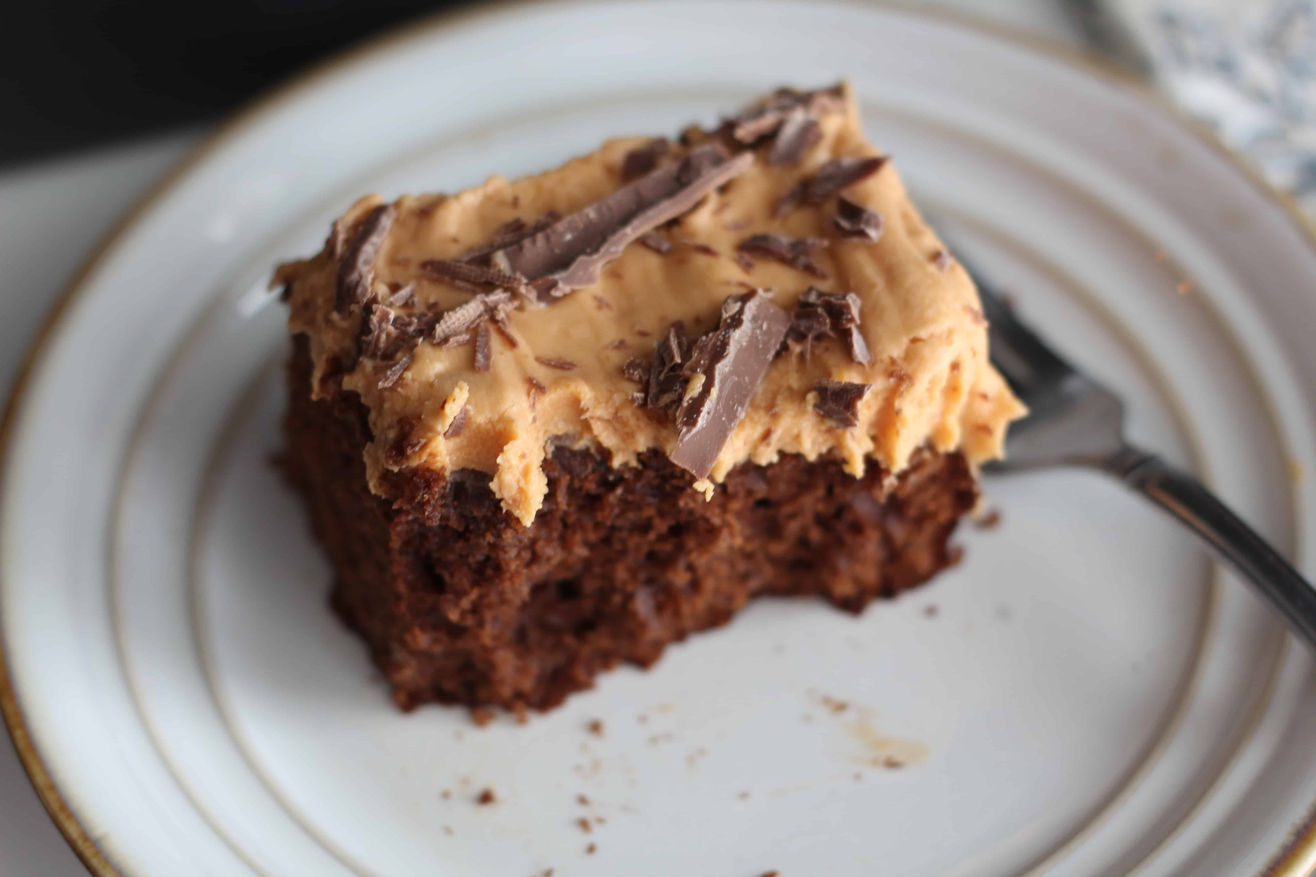 Butterscotch Toffee Chocolate Cake