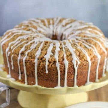 Streusel Coffee Cake Pound Cake
