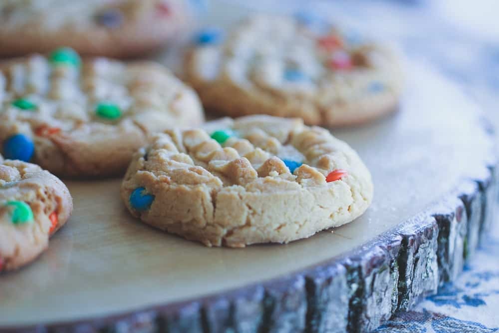 Can't Eat Just One Peanut Butter M&M Cookies