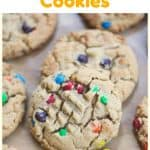 'Can't Eat Just One' Peanut Butter M&M Cookies