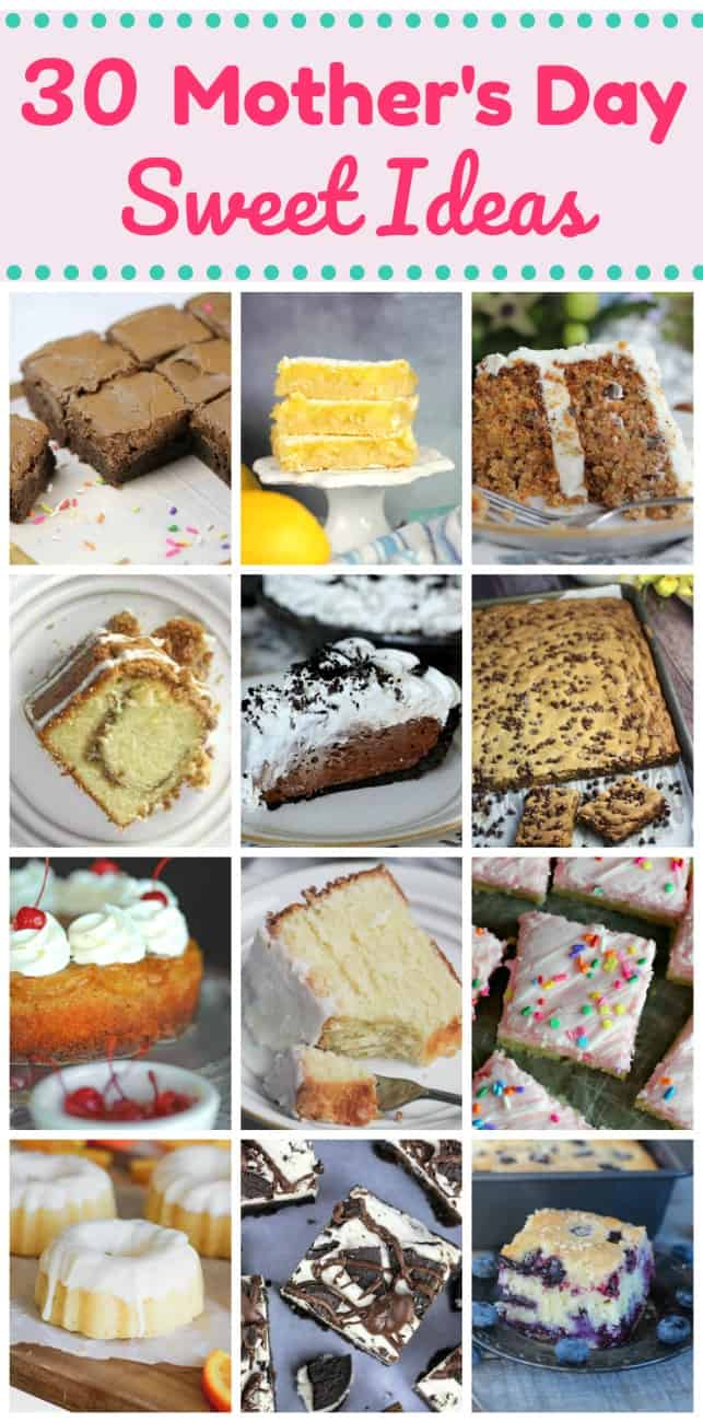 30 Mother\'s Day Sweet Ideas