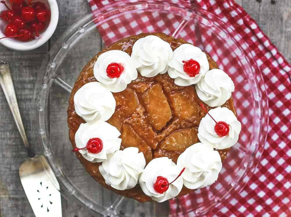 Ultimate Fresh Pineapple Upside Down Cake Cookie