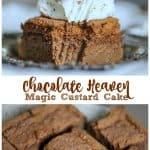 Chocolate Heaven Magic Custard Cake