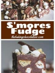 Easy S'mores Fudge