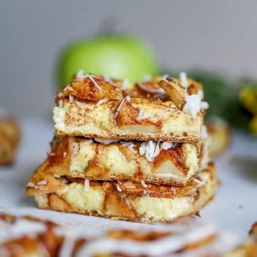 Easy Apple Cream Cheese Tart