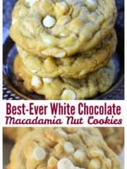 Best-Ever White Chocolate Macadamia Nut Cookies
