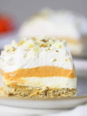Pumpkin Lasagna Dessert