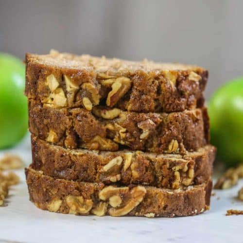 Farmhouse Apple Walnut Loaf