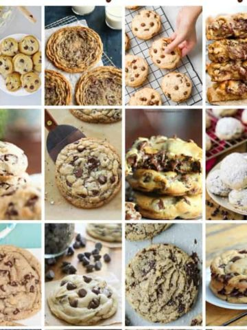 25 Rockin' Chocolate Chip Cookie Recipes (that are Freaking Awesome)