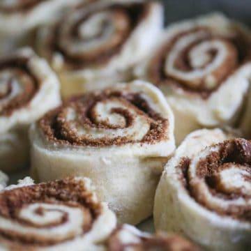 Fluffy Loaded Breakfast Bake & Easy Quick Gooey Cinnamon Rolls