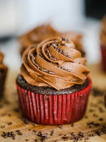 Ultimate Vegan Chocolate Cupcakes