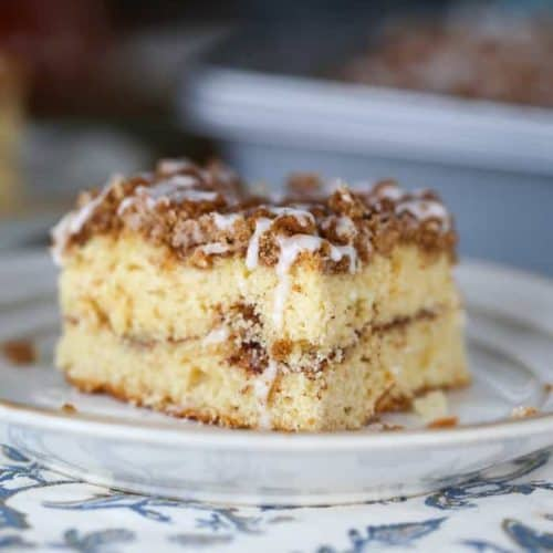 Cinnamon Swirl Streusel Coffee Cake for the Weekends! (9×13 Pan)