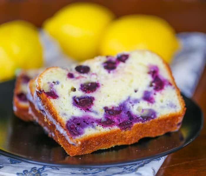 Lemon Blueberry Explosion Loaf