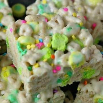 Lucky Charm Marshmallow Rice Krispies