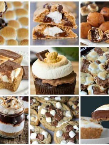 20 Delightfully Gooey Chocolatey S'more Desserts