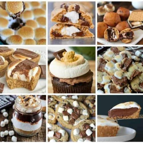 20 Delightfully Gooey Chocolatey S'more Desserts