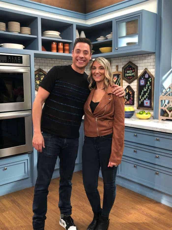 Jeff Mauro - Kim Lange @ The Kitchen/Food Network