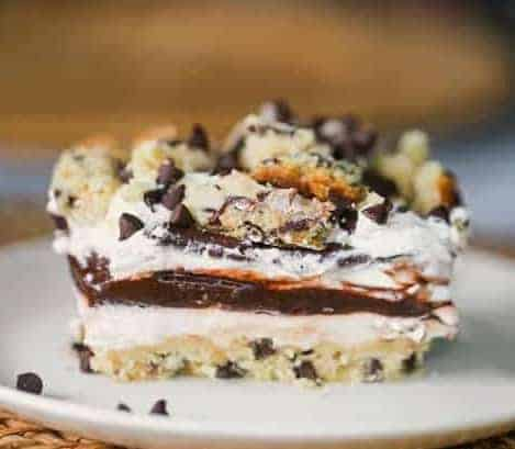 Chocolate Chip Cookie Lasagna Dessert