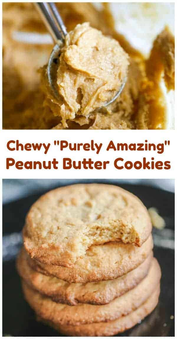"""Purely Amazing"" Chewy Peanut Butter Cookies – Healthy & Gluten-Free"