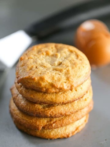Purely Amazing Chewy Peanut Butter Cookie