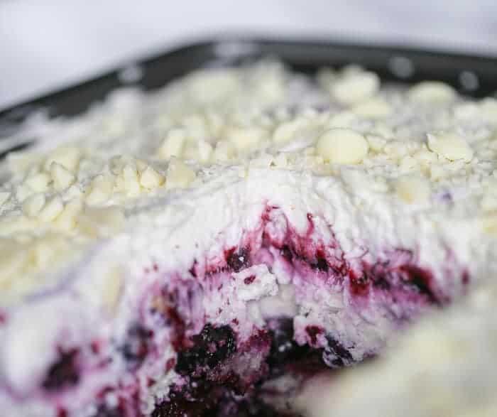 Blueberry Cream Cheesecake Lasagna