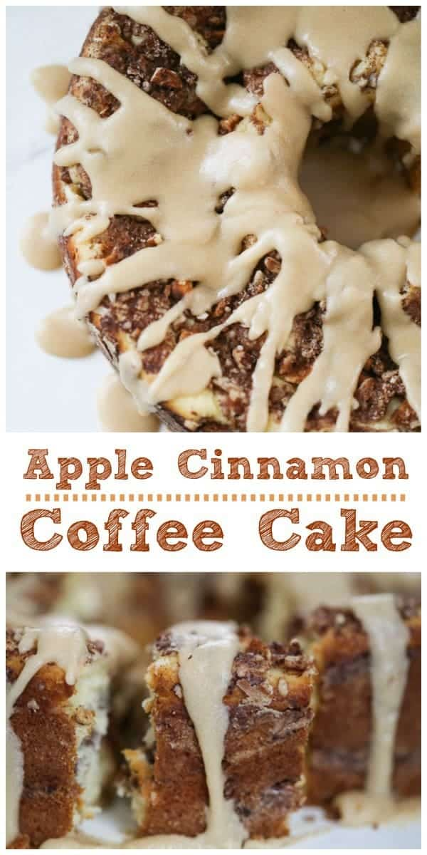 Apple Cinnamon Coffee Cake - Keto   Sugar Free Option too!