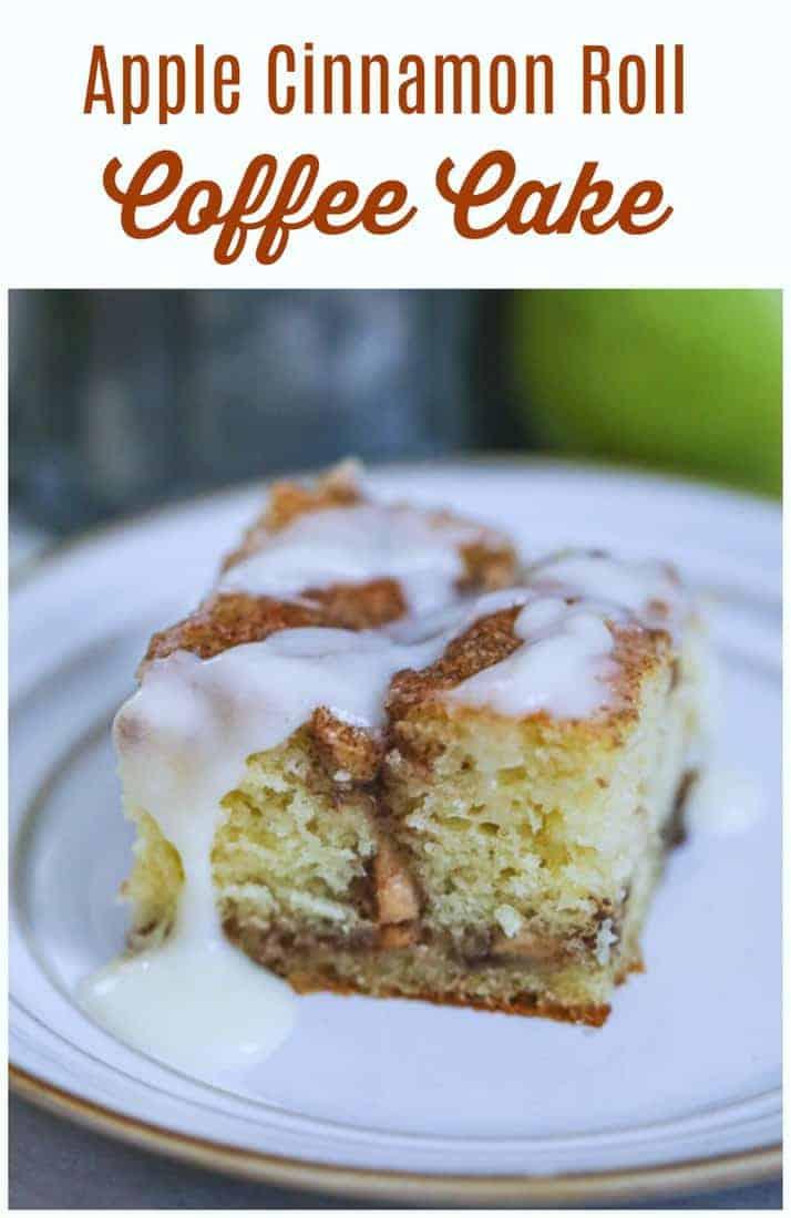 Apple Cinnamon Roll Coffee Cake