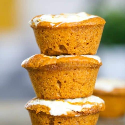 Yummy Pumpkin Muffins - Includes Cream Cheese Stuffed & Chocolate Chip