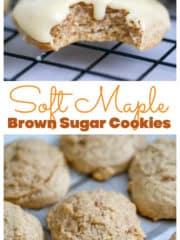 Soft Maple Brown Sugar Cookies