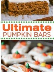Ultimate Pumpkin Bars