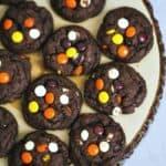 Reese's Peanut Butter Chocolate Fudge Cookies
