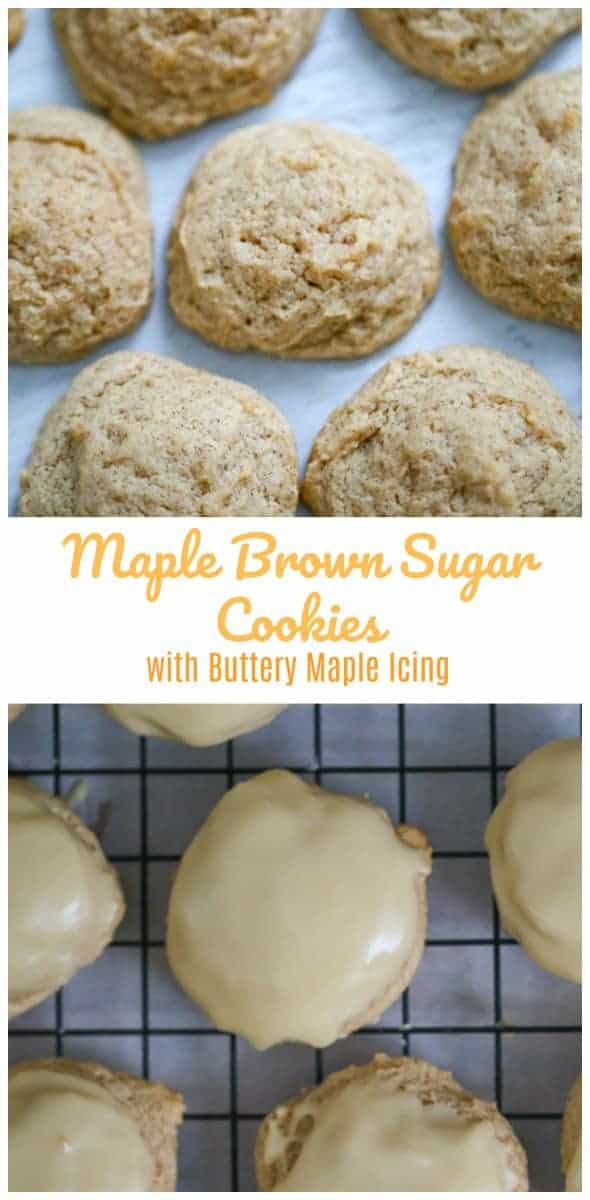 Soft Maple Brown Sugar Cookies