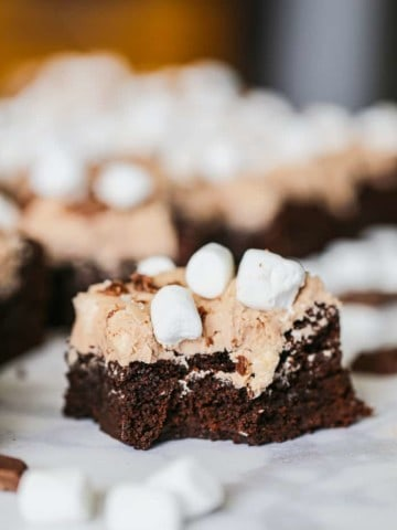 Cocoa Marshmallow Brownies - GF option