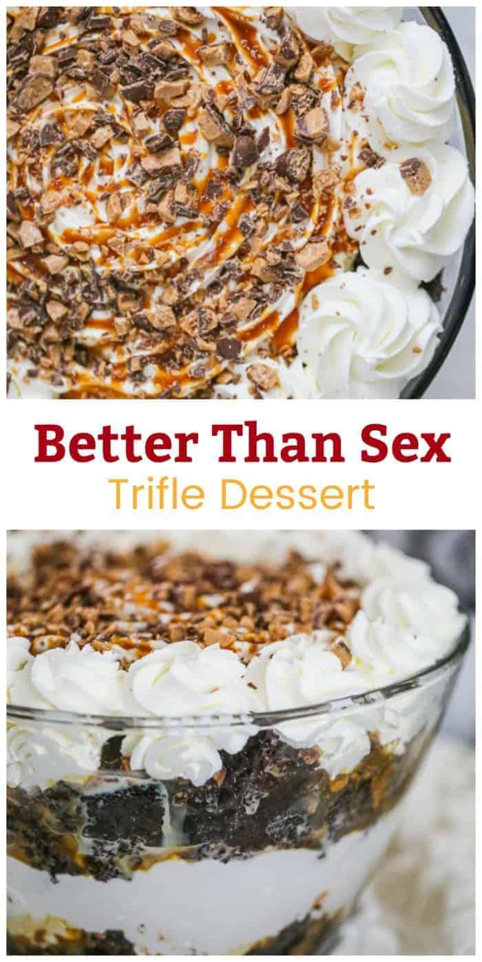 Better Than Sex Trifle Dessert