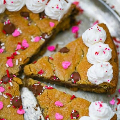 Marvelous Chocolate Chip Party Cookie Cake