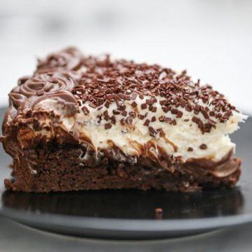 Awesome Chocolate Brownie Cheesecake Dessert