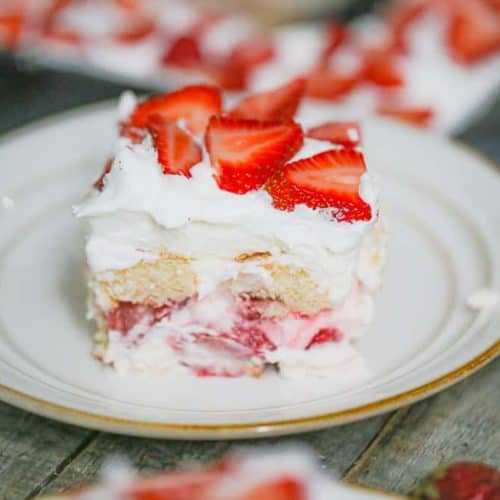 Ultimate Strawberry Shortcake Tiramisu