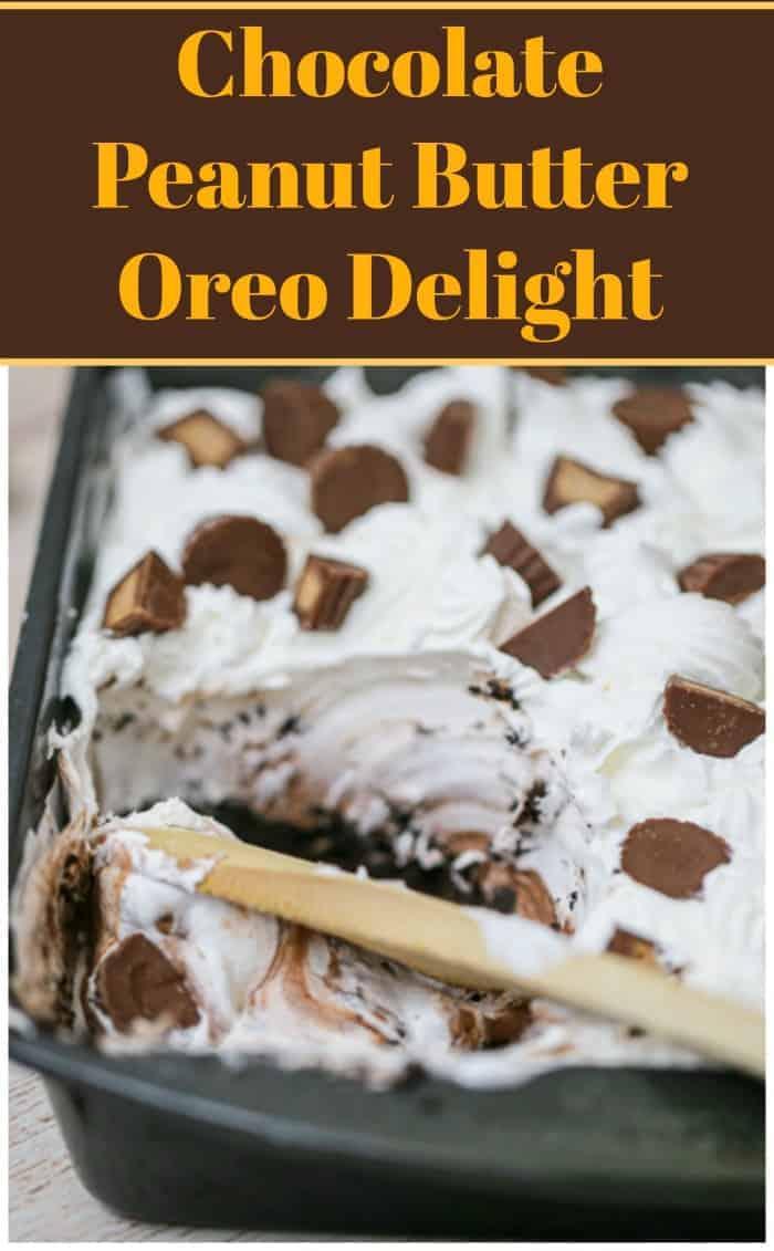 Chocolate Peanut Butter Oreo Delight