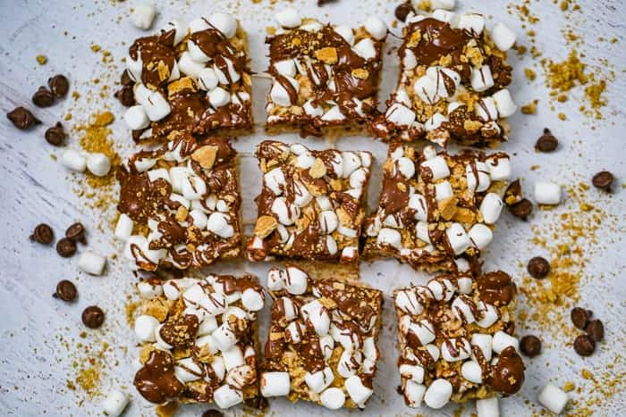 Marshmallow S'mores Rice Krispies
