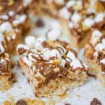 Best Marshmallowy S'mores Rice Krispies