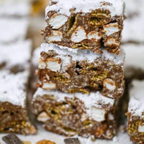 Awesome Scotcheroo Puppy Chow Bars