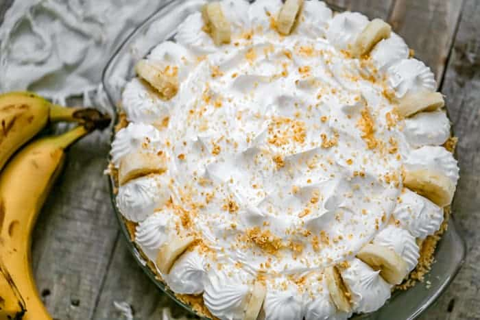 Easy No-Bake Banana Cream Pie