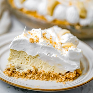 Easy No-Bake Banana Cream Pie