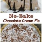 Sonic Chocolate Shake Pudding Cream Pie - No Bake & Easy