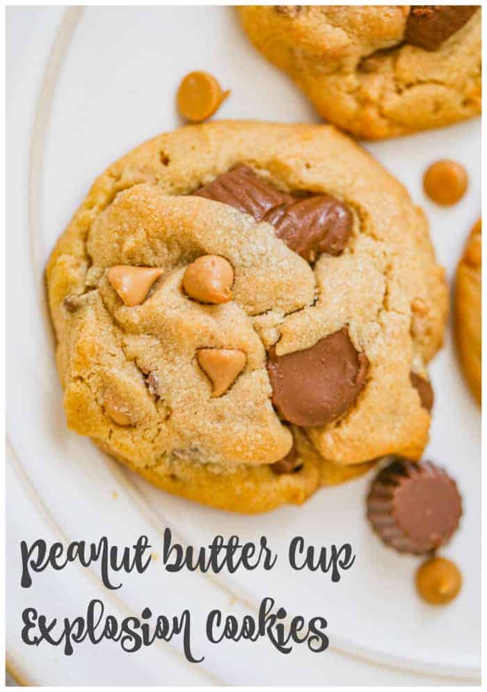 Peanut Butter Cup Explosion Cookies