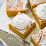 Pumpkin Magic Custard Cake