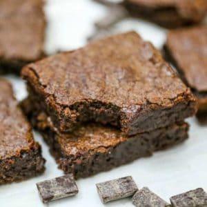Super Easy Homemade Brownies
