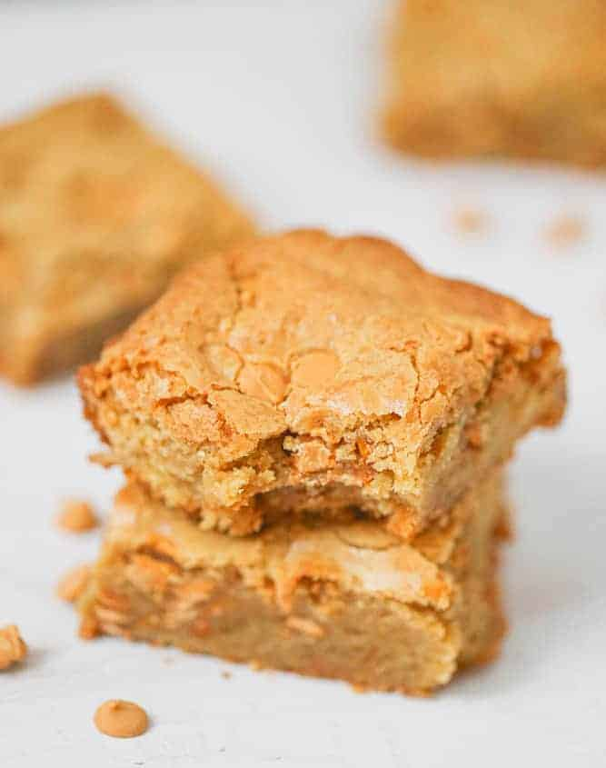 Awesome Butterscotch Blondies