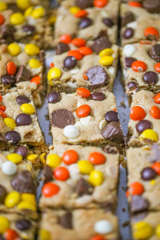 Scrumptious Peanut Butter Loaded Bars