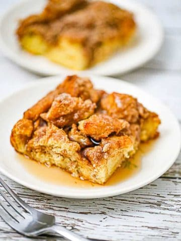 Overnight Cinnamon French Toast Bake